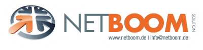 NETBOOM Solution - Individuelle IT-Dienstleistungen Logo